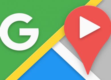 Google Maps ajuda a encontrar o destino