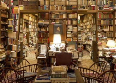 O Bibliotecário e a Lareira